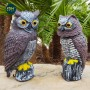 Wild action owl (recomended for gardens, roofs,etc) dimensions: 40x19cm